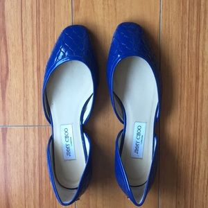 Jimmy Choo Flats- perfect new condition!